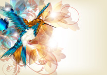Colorful Vector Design With Re...