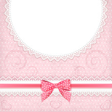 Greeting Card With Place For Your Text.