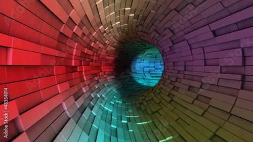 Obraz na płótnie Streszczenie tunelu