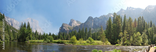 Poster Parc Naturel Yosemite National Park Panorama