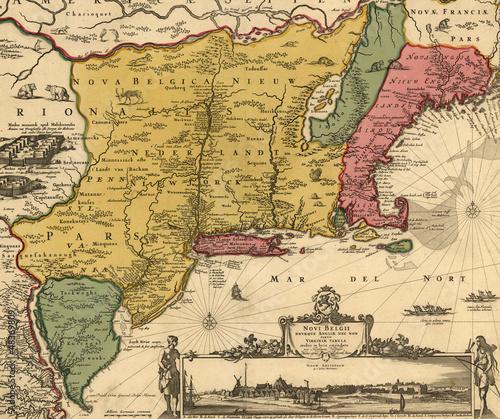 Fotografía  old map