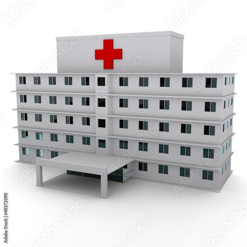 Fotografie, Obraz  hospital