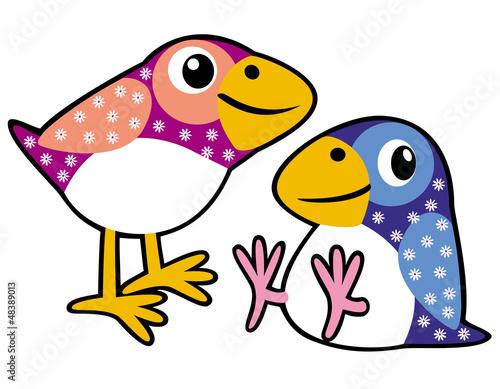 dwa-dziecinne-ptaki