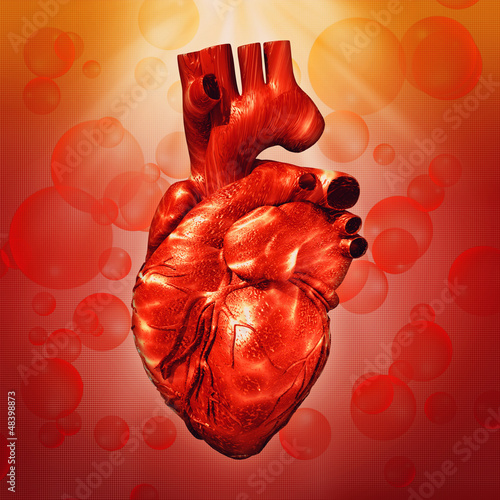 Human Heart Abstract Medical Backgrounds For Your Design