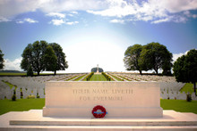 First World War Cemetery Near ...