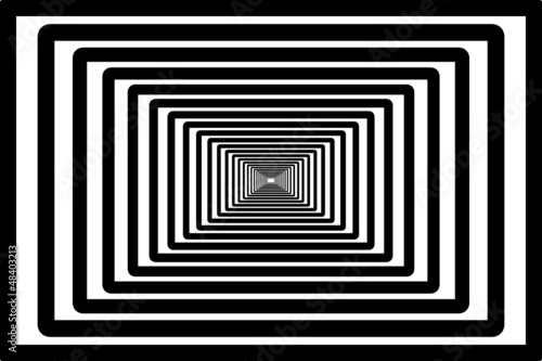 Fototapety przestrzenne  tunel