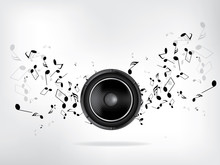 Abstract Music Retro Grunge Ba...