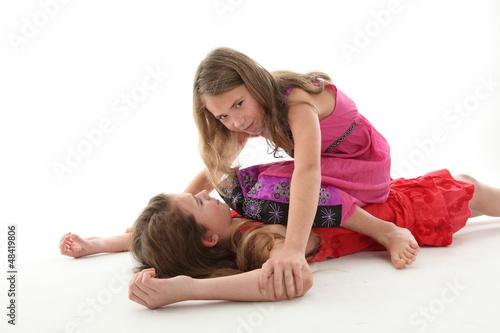Fotografie, Obraz  Streit unter Kindern