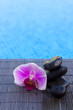 spa settings by a pool