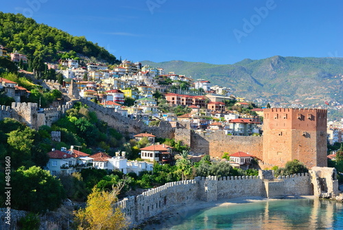 Bay of Alanya. Turkey Canvas Print