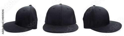 Valokuvatapetti Black Hat at Different Angles