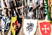 Medieval Market In Spanish Cit...