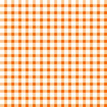 Seamless Retro White-orange Square Tablecloth