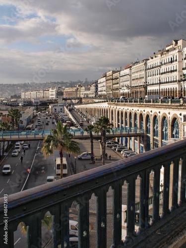 Poster Algérie Alger