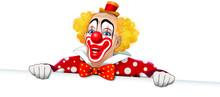Clown Sorridente Con Vestito A...