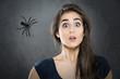 canvas print picture - Arachnophobia