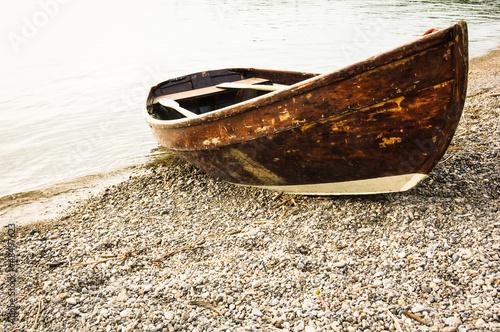 Wallpaper Mural old rowboat