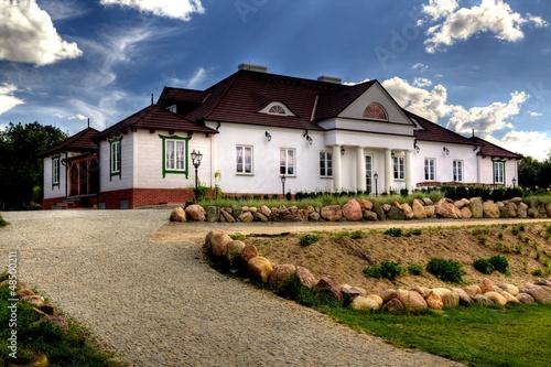 Obraz Court Soplicowo in Cichowo, Poland - fototapety do salonu