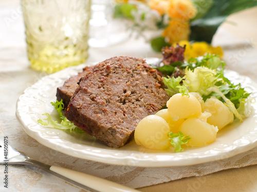 Photo  meatloaf
