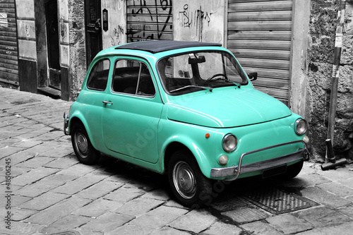 Canvas Prints Old cars Italian style