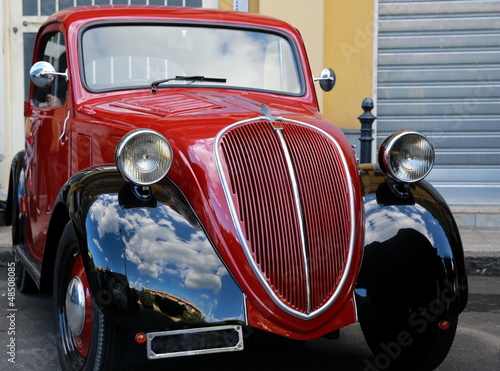Photo Stands Old cars Balilla