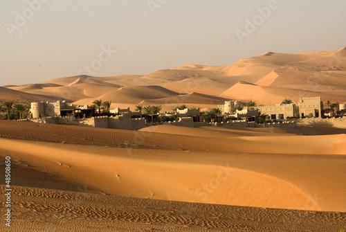 Poster Abou Dabi Abu Dhabi desert