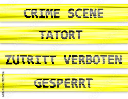 Tatort Absperrband Kaufen Sie Diese Illustration Und Finden Sie