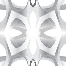 Gray Abstract Background. Vector