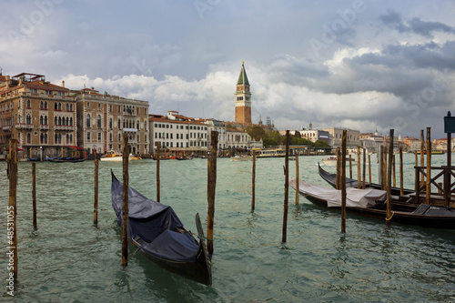 Grand Canal in Venice after storm - 48531055