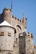canvas print picture - Medieval Castle Europe