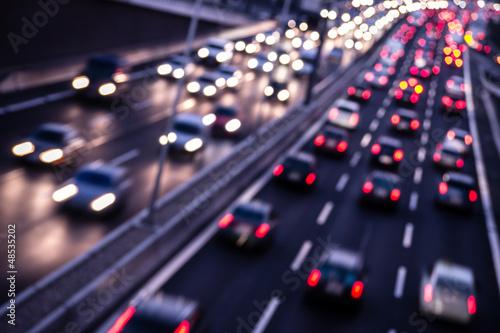 Fotografía  autobahn abend