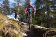 Mountainbiken Benediktenwand