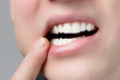 canvas print picture - Zahnschmerzen