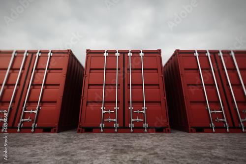 Fotografia  Cargo containers.