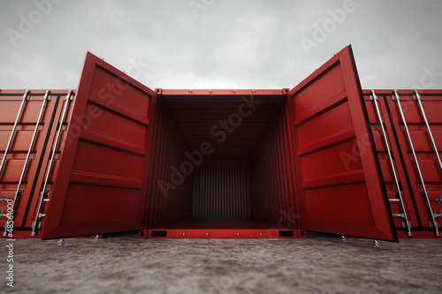 Photo Cargo containers.