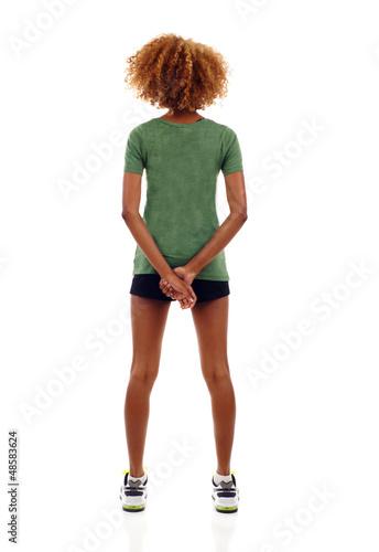 Fotografie, Obraz  Woman Back View