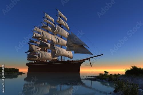 jacht-w-lagunie