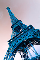 Panel Szklany Industrialny Eiffel tower, Paris.