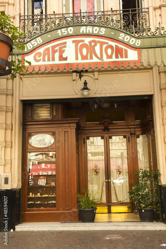 Foto op Plexiglas Buenos Aires Cafe Tortoni, Buenos Aires, Argentina.