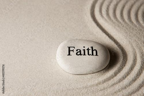 Photo  Faith stone