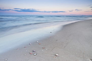 La playa del descano