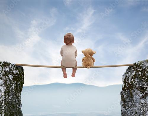 Fotografie, Obraz  Baby games 6