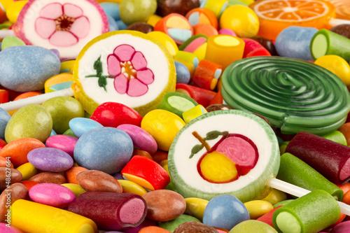 Foto auf AluDibond Süßigkeiten sweets