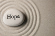 canvas print picture - Hope