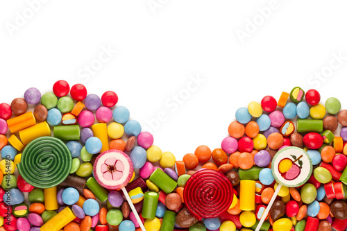 Aluminium Prints Candy sweets