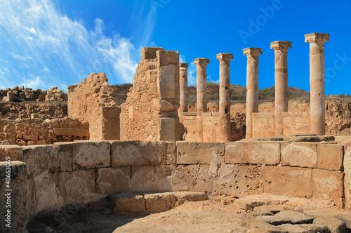 Foto op Canvas Cyprus Ancient Greek columns