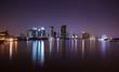 Chao Phraya river scenery at night