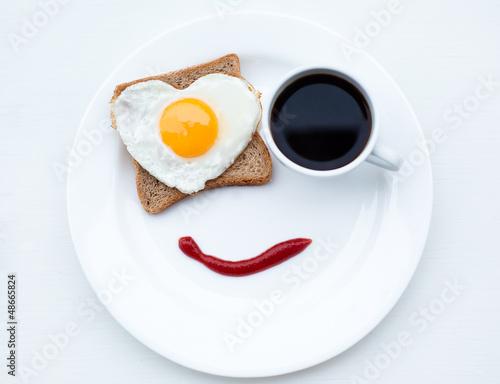 Fotografie, Obraz  Breakfast with love