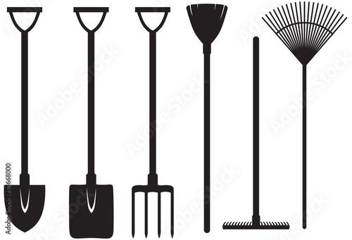 Fotografia Gardening tools set