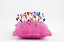 Handmade Felt Pin Cushion With...